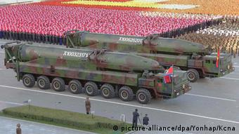 Militärparade in Pjöngjang (Foto: Reuters)