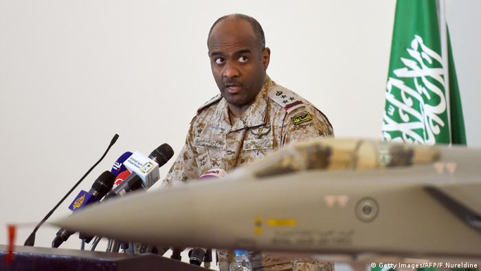 Ahmed Assiri Saudi Arabien General Brigadier (Getty Images/AFP/F.Nureldine)