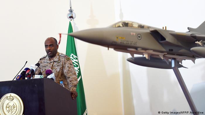 احمد عسیری، ژنرال عربستان سعودی و سخنگوی نیروهای ائتلاف عربی