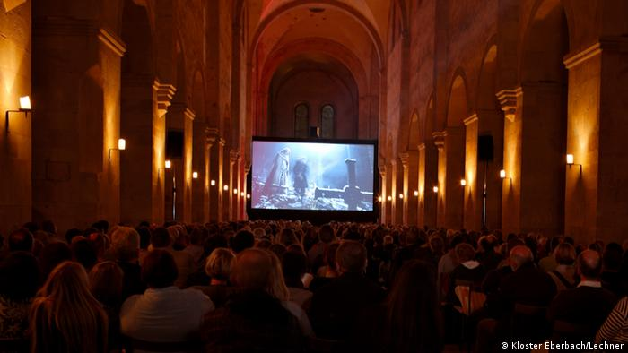 Kloster Eberbach Filmvorführung (Kloster Eberbach/Lechner)
