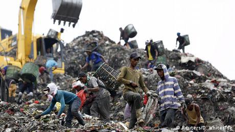 Indonesien Plastikmüll Verwertung