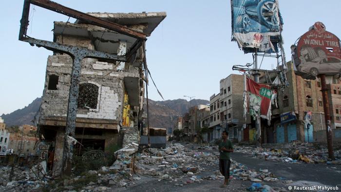 Jemen Luftangriffe Zerstörung