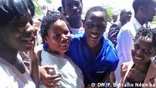 Angola Aktivisten mit Familien