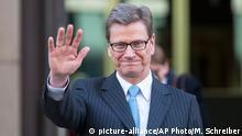 Guido Westerwelle, Ex-Außenminister FDP - 2012 (picture-alliance/AP Photo/M. Schreiber)