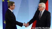 Guido Westerwelle, Ex-Außenminister FDP - Amtsübergabe Frank-Walter Steinmeier