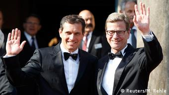 Guido Westerwelle and Michael Mronz