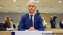Niederlande Prozess Geert Wilders