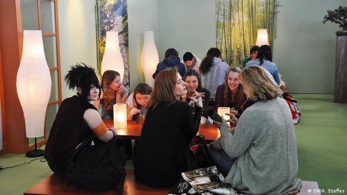 Japanischer Teegarten auf der Comic Con in Leipzig