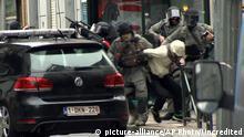 Belgien Moolenbeek Verdächtiger Pariser Attentäter wird bei Polzeieinsatz festgenommen