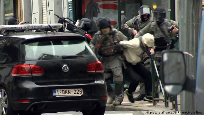 Задержание Салаха Абдеслама в Брюсселе 18 марта