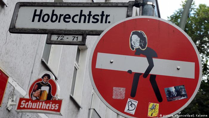 Граффити в берлинском районе Нойкельн