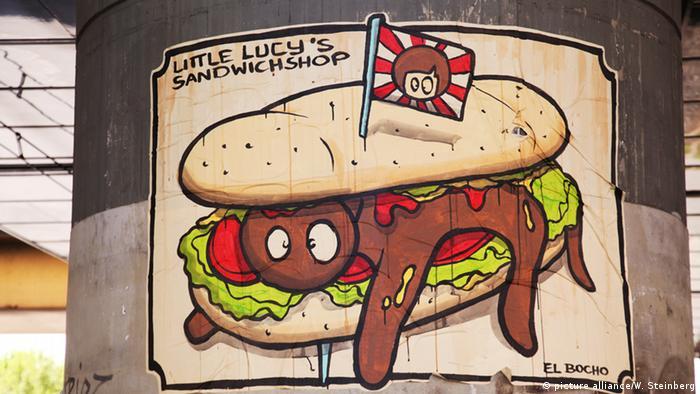 Рисунок Сэндвичная маленькой Люси