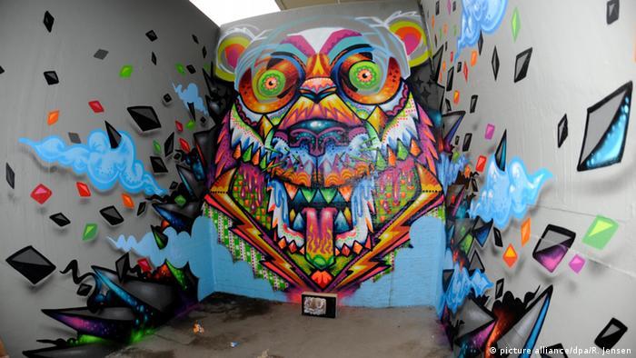 Граффити в Пивной кисти