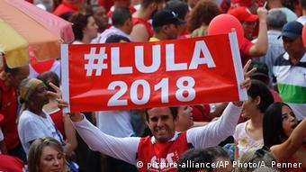 Brasilien Demo pro Lula