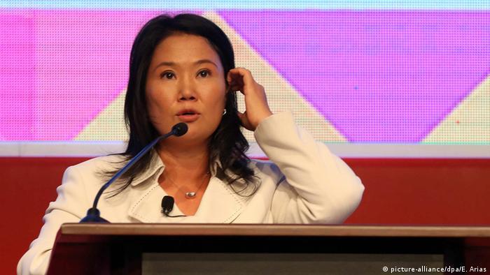 Peru Präsidentschaftskandidatin Keiko Fujimori (picture-alliance/dpa/E. Arias)