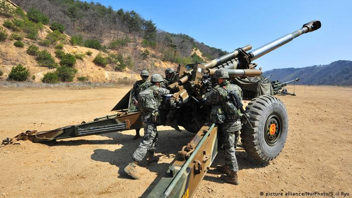 US-und Südkorea Marines (picture alliance/NurPhoto/S.-il Ryu)