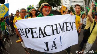 Protests against Dilma Rousseff