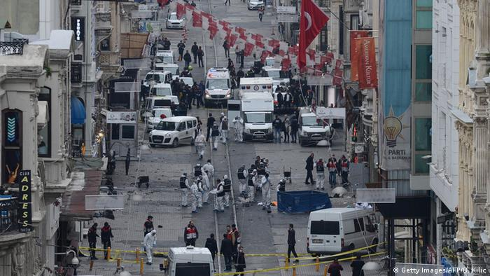 Türkei Anschlag in Istanbul (Getty Images/AFP/B. Kilic)
