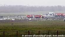 Russland Absturz Passagiermaschine in Rostow am Don