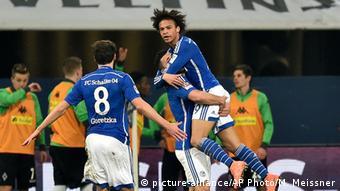 Fußball Bundesliga Schalke 04 vs. Borussia Mönchengladbach Leroy Sane