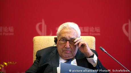 Henry Kissinger (picture-alliance/AP Photo/M. Schiefelbein)