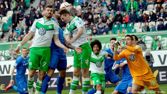 Fußball Bundesliga VfL Wolfsburg vs. SV Darmstadt 98