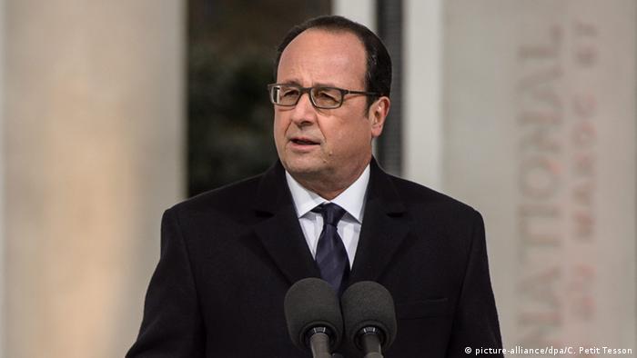 Frankreich Paris Gedenkveranstaltung Algerienkrieg
