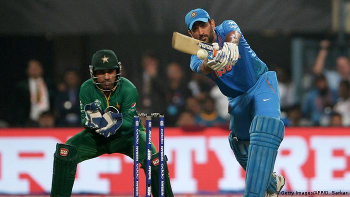 Indien WT20 Cricket - Indien gewinnt gegen Pakistan (Getty Images/AFP/D. Sarkar)