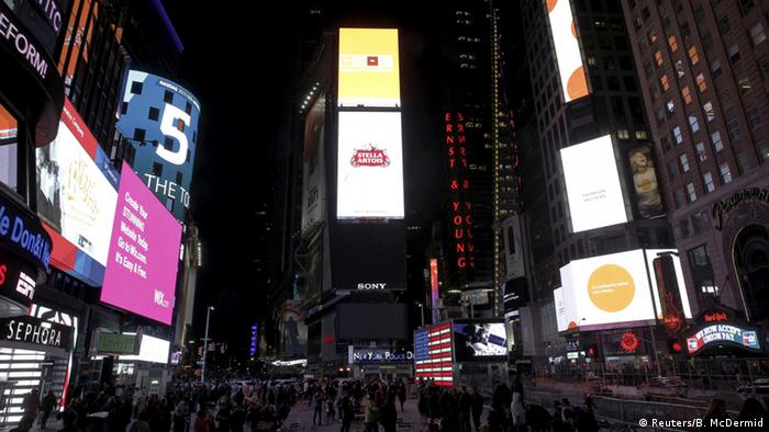 USA Earth Hour New York Times Square (Foto: Reuters)