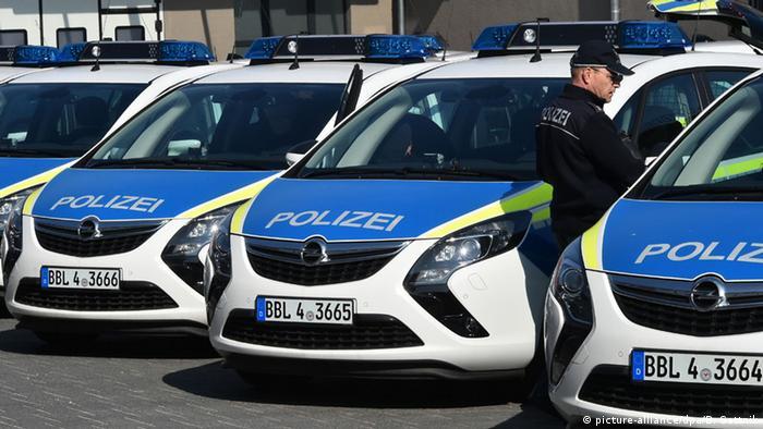Новые полицейские Опели в Бранденбурге