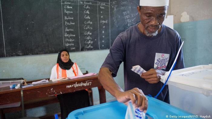 Voting in Zanzibar's elections DANIEL HAYDUK/AFP/Getty Images)