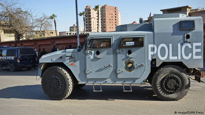 Ägypten Polizei Polizeiwagen Sicherheitskräfte (Imago/ZUMA Press)