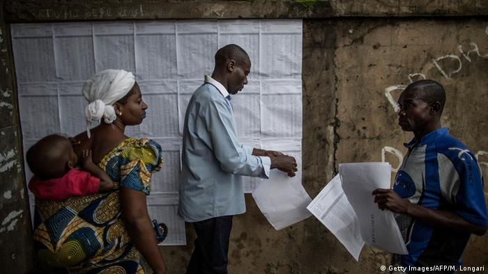 Voting in Congo-Brazzaville © Getty Images/AFP/M. Longari