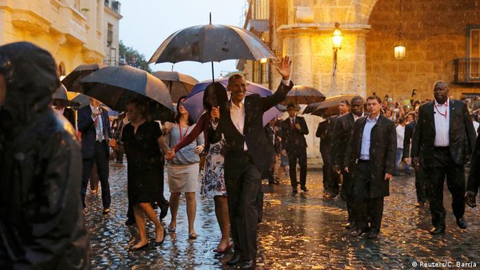 Kuba Havana Staatsbesuch US Präsident Obama