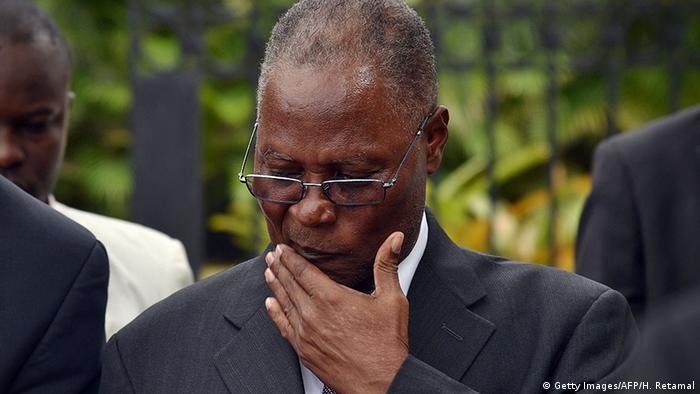 Haitis Übergangspräsident Jocelerme Privert (Foto: Getty Images/AFP)