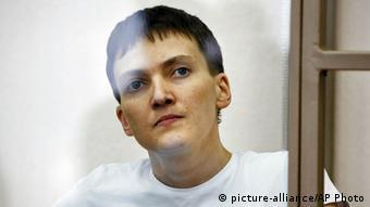 Напередодні відновлення сухого голодування Савченко важить менше 64 кг