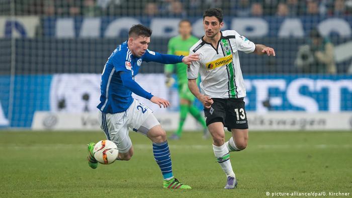 Fußball Bundesliga 27. Spieltag Schalke 04 - Borussia Mönchengladbach