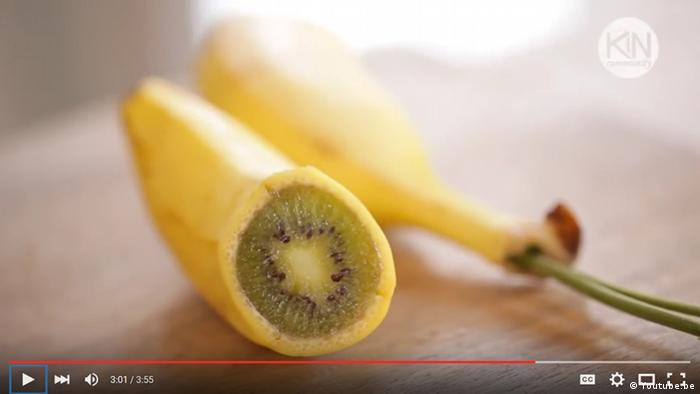 Youtube Screenshot Kiwi in Banane Screenshot YouTube
