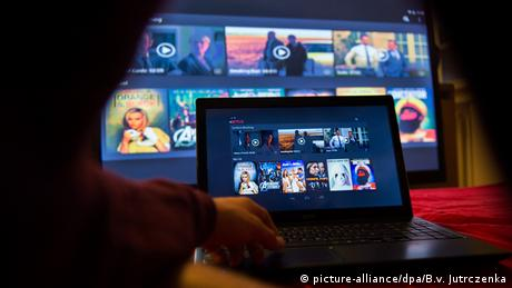 Videostreaming-Firma Netflix (picture-alliance/dpa/B.v. Jutrczenka)