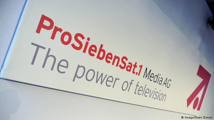 Logo ProSiebenSat1 Media AG (Imago/Sven Simon)