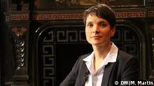 Leipzig Frauke Petry bei Conflict Zone