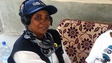 Tansania Interview DW-Reporterin Salma Said