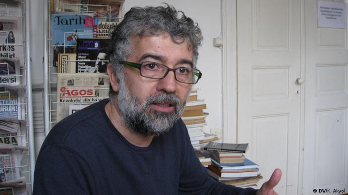 Erol Önderoglu from Reporters without Borders in Turkey (Photo: DW)