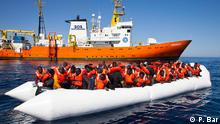 Mittelmeer MS Aquarius