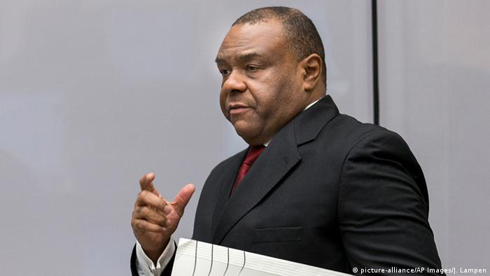 Former Congolese Vice President Jean-Pierre Bemba