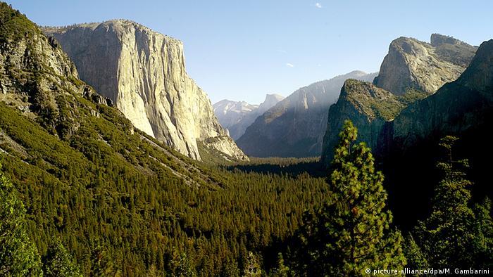 El Captain Felsen Yosemite Valley Nationalpark Kalifornien
