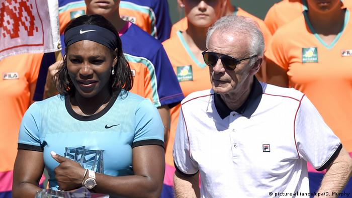 Kalifornien Indien Wells Serena Williams und Raymond Moore