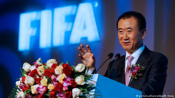 China Wanda Group - Vorstandsvorsitzender Wang Jianlin (picture-alliance/dpa/W. Hong)