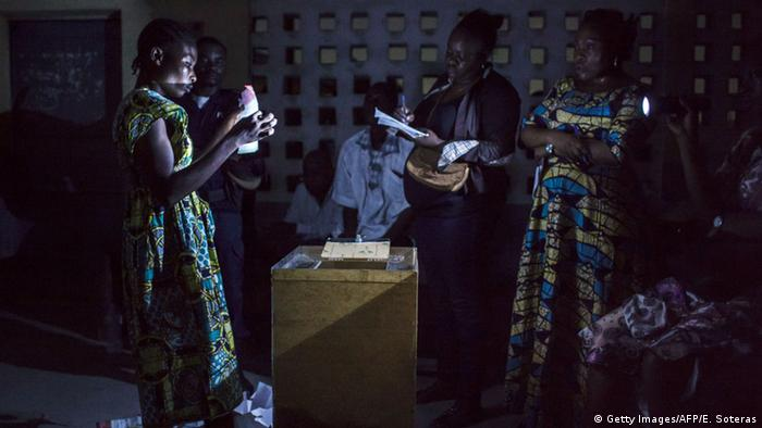 Zentralafrika Kongo Wahl