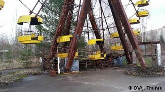 Колесо огляду в Прип'яті біля ЧАЕС. Тисячі людей евакуювали і вони вже більше ніколи не повернуться на батьківщину